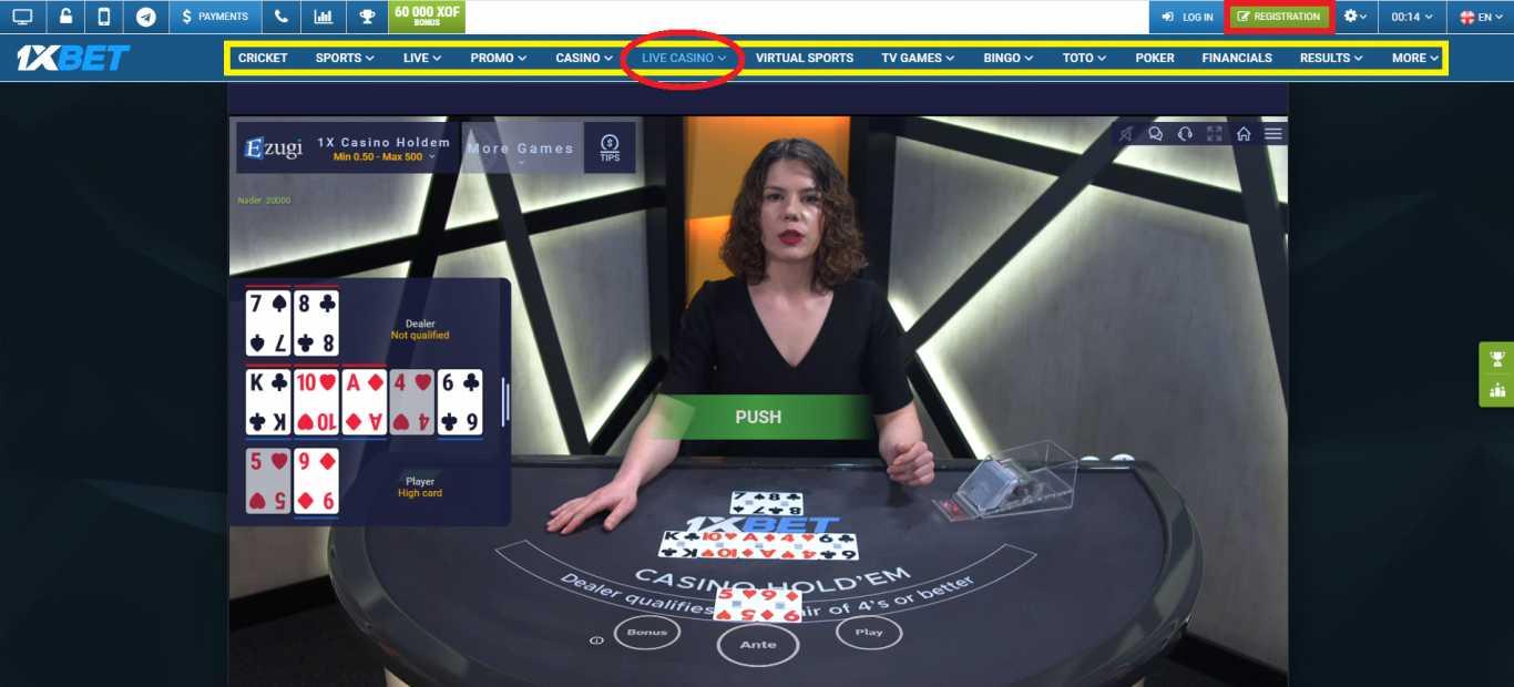 1xBet Casino Bonus Features