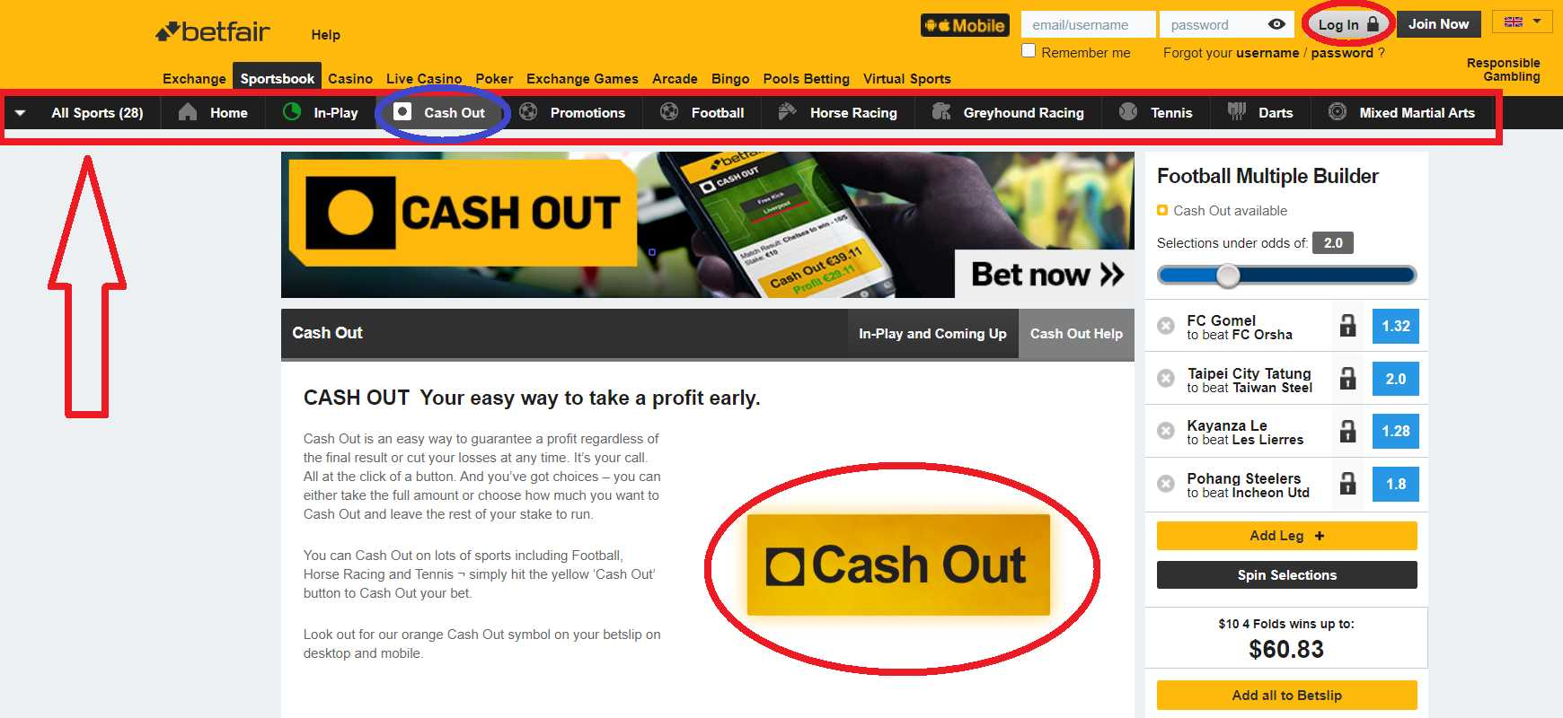 Betfair Mobile Popular Payment Methods